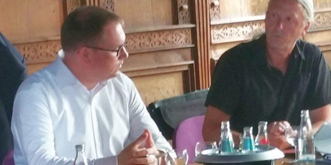 Fraktionssitzung mit Bürgermeister Lindenau